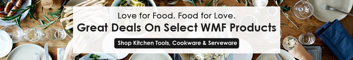 Great Deals on Select WMF Products